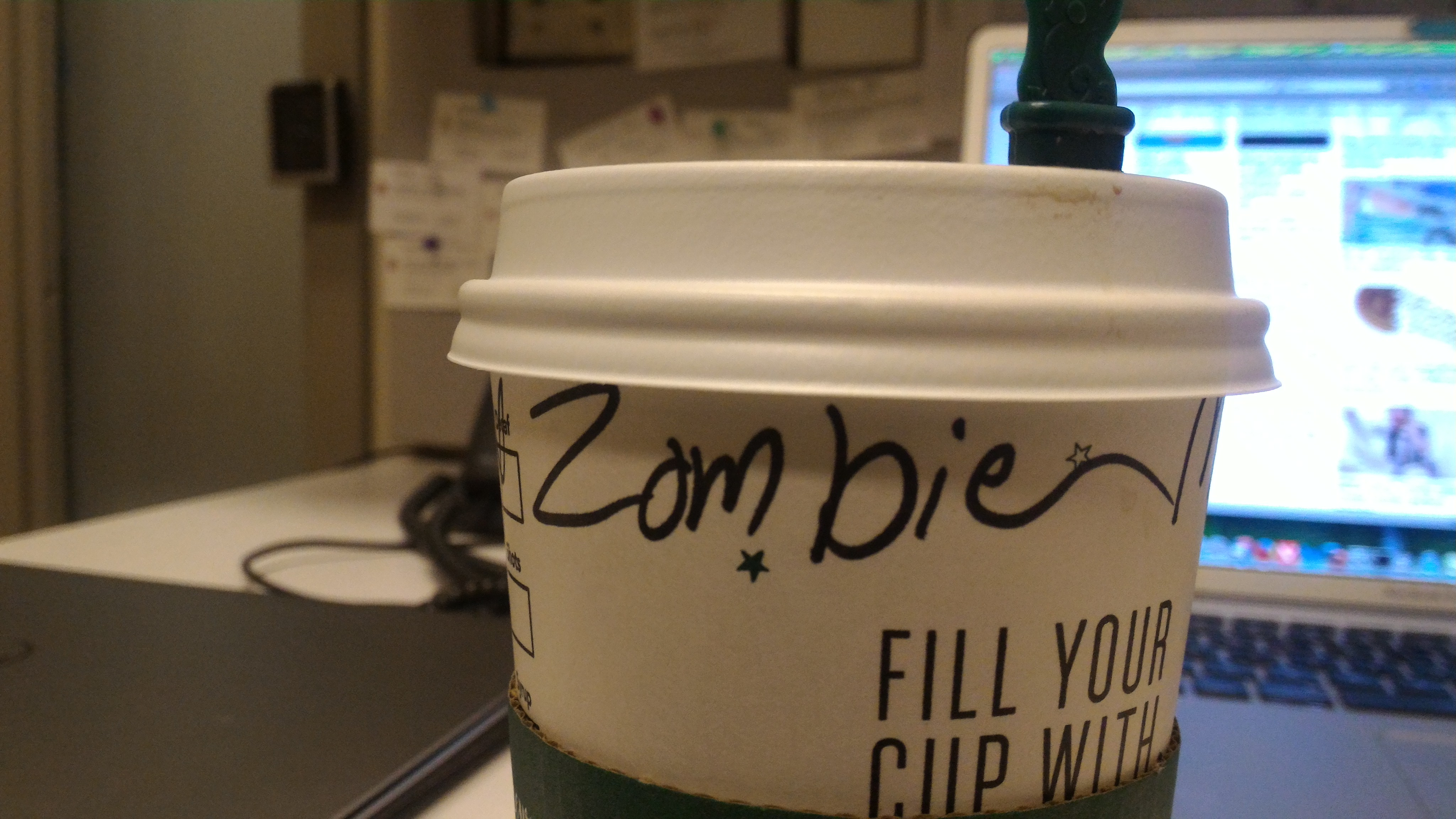 Zombie from Starbucks