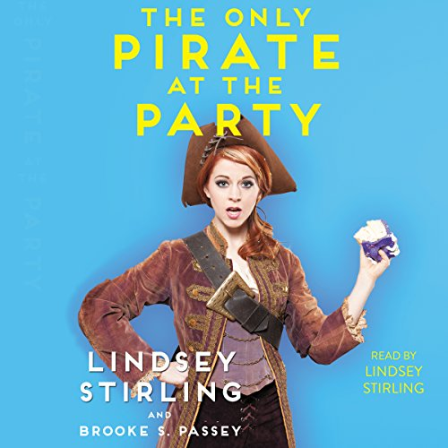 """Artwork for """"The Only Pirate At The Party"""" shows Lindsey Stirling wearing a pirate outfit"""