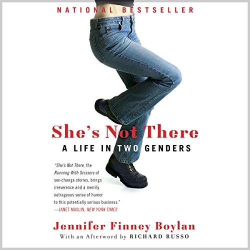 """Artwork for """"She's Not There"""" shows the lower torso and legs of a woman wearing jeans and boots. The right foot is hooked behind the left knee in a position that implies discomfort."""