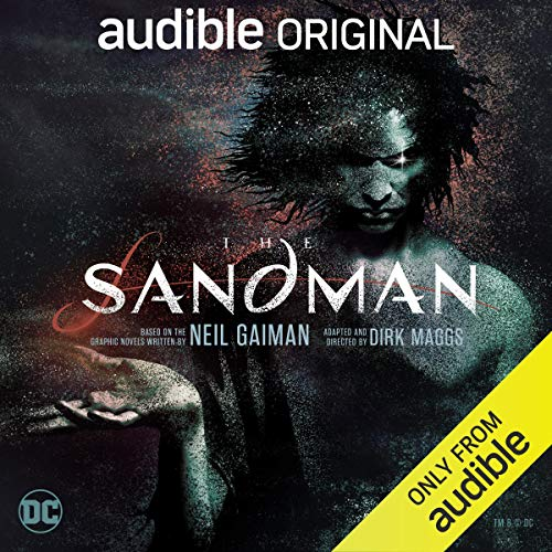 """Artwork for """"The Sandman"""" show an illustration of the character of Morpheus, The Lord of the Dreaming, also known as The Sandman."""